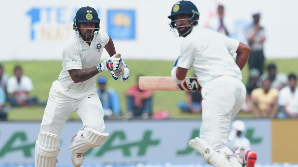 The duo put together 253 runs for the second wicket to put India in the driver's seat on Day 1 of the first Test. (AFP)
