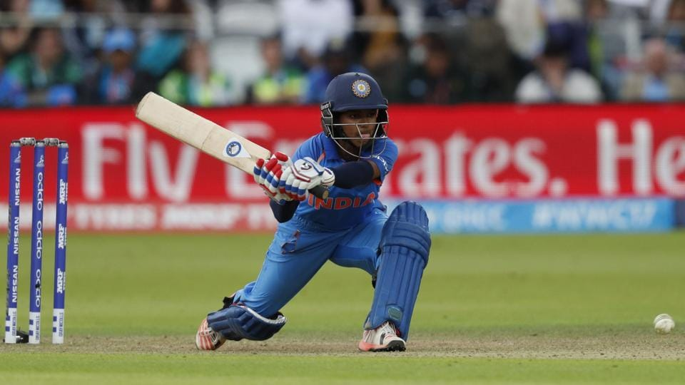 Punam Raut  top-scored for India in the Women's Cricket World Cup final against England at Lord's cricket ground in London on July 23.