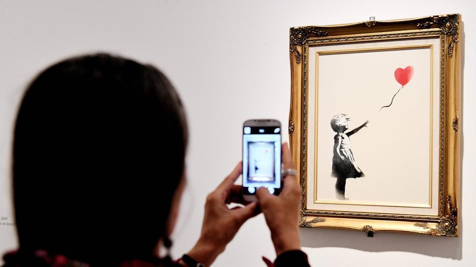 Banksy,The Balloon Girl,British artwork