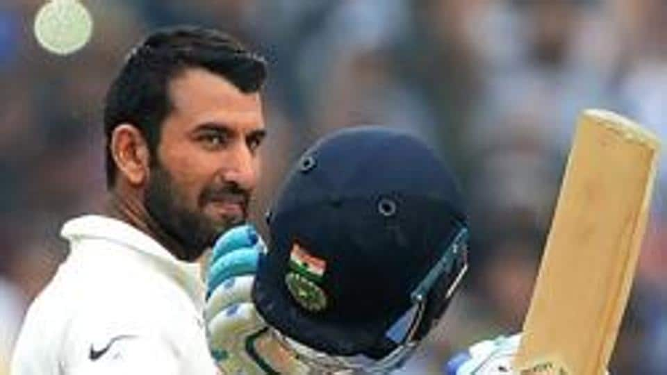 Cheteshwar Pujara hit his 12th century on the opening day of the first Test between India vs Sri Lanka in Galle.