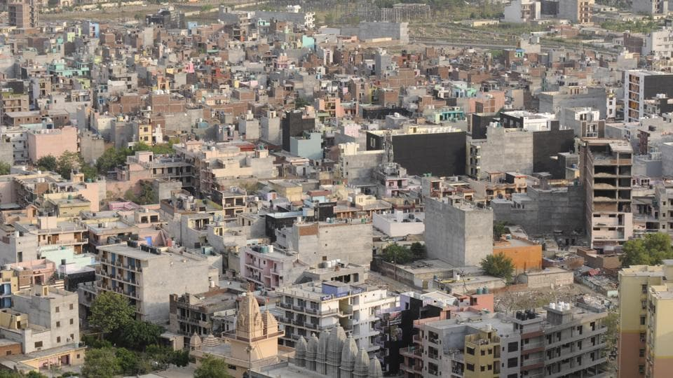 Choked sewage system, lack of a proper drainage network, narrow roads, unsafe residential structures and thickly populated pockets are common characteristics of all Noida villages.