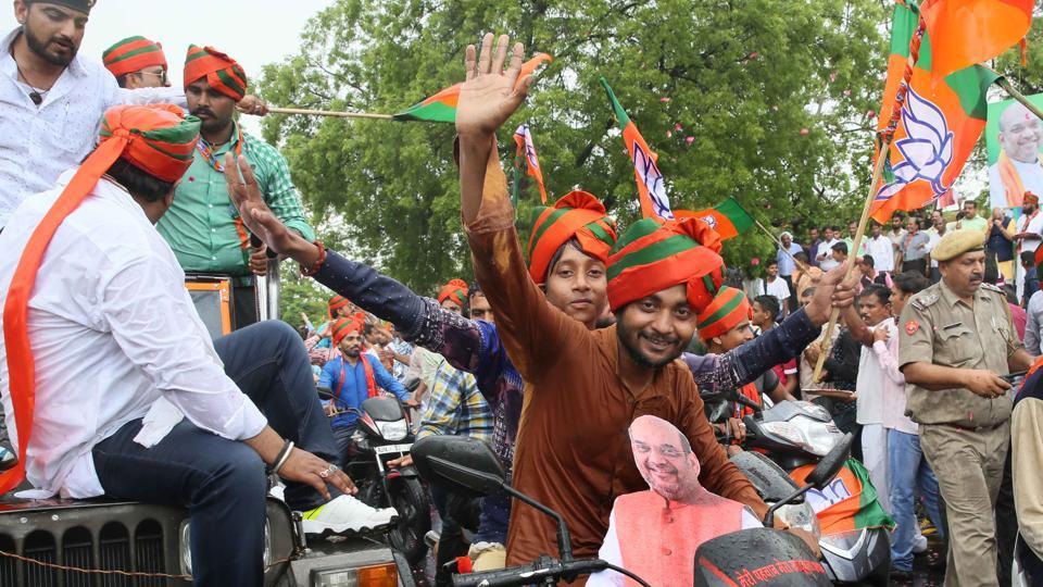 BJP,BJYM,Yogi Adityanath