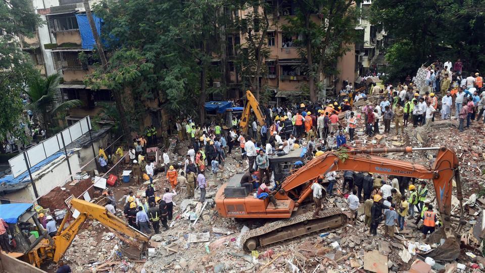 Mumbai building collapse,Ghatkopar building collapse,Mumbai police