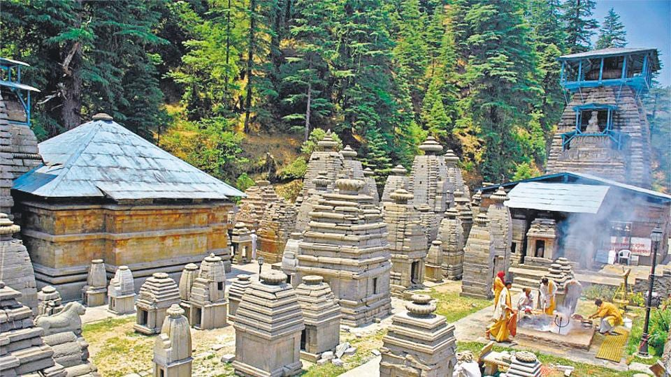 Temples at  Jageshwar in Almora district  are among the top 25 model monuments in India.