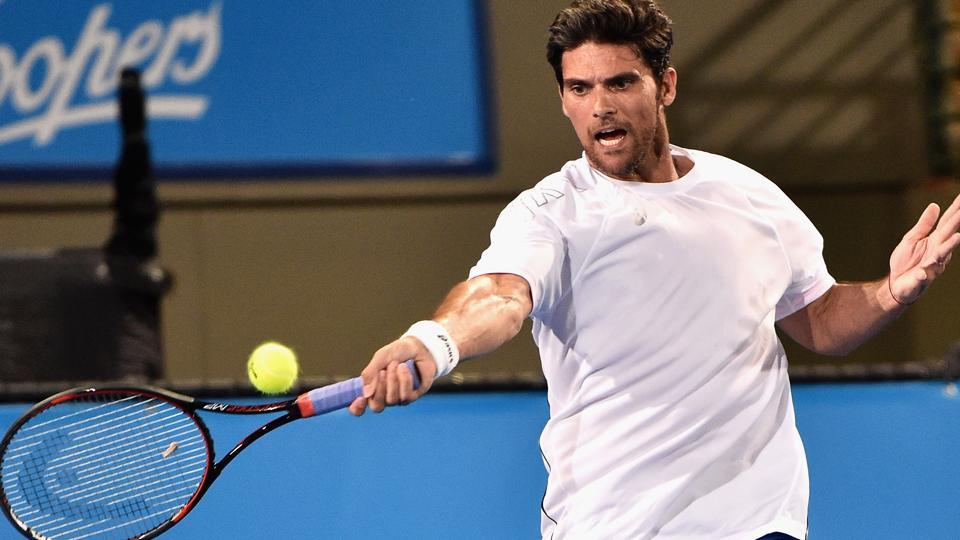 Former Australian tennis star Mark Philippoussis' father Nikolaos Philippoussis, a personal tennis coach, has been arrested on suspicion of molesting two children