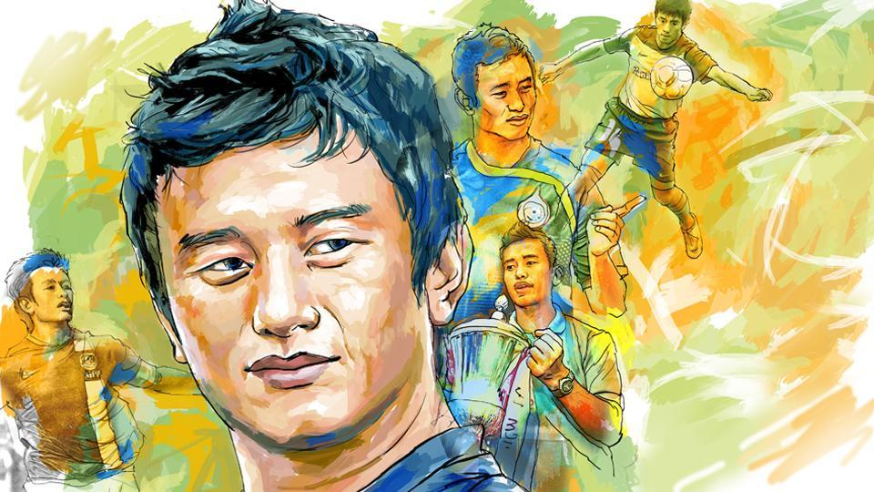 Bhaichung Bhutia,Indian football team,East bengal FC