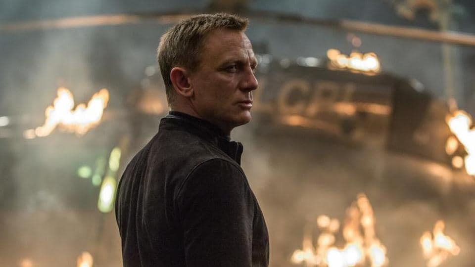 Daniel Craig in a still from Spectre.