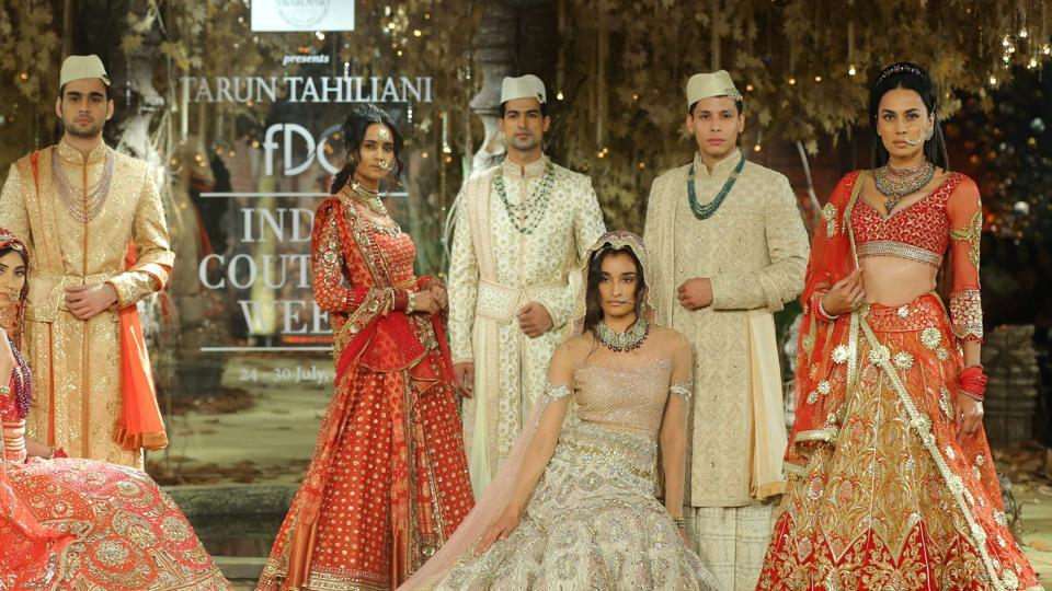 Tarun Tahiliani,Bridal,India Couture Week
