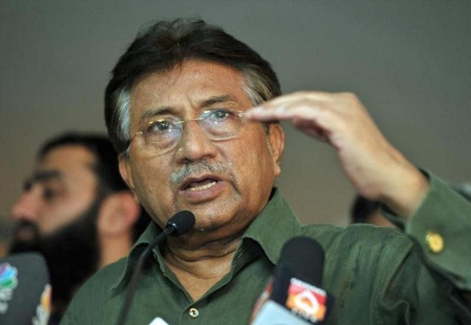 File photo of Pakistan's former military dictator Gen Pervez Musharraf.