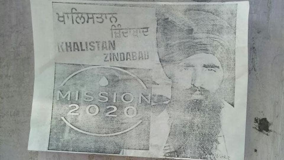 Khalistan,poster,Dabwali