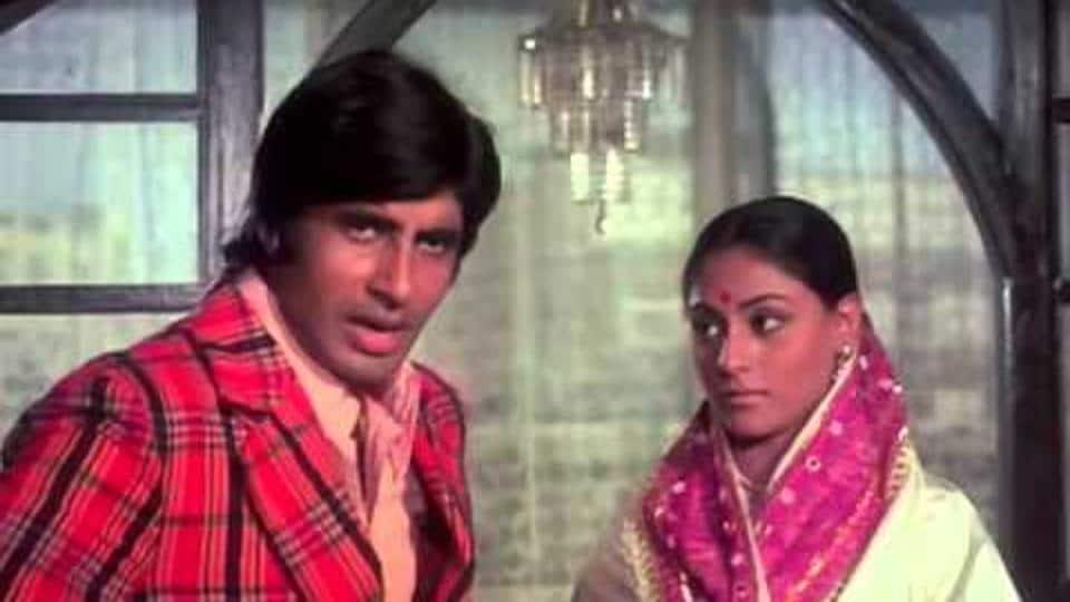 Abhimaan featured Amitabh alongside his wife Jaya Bachchan.