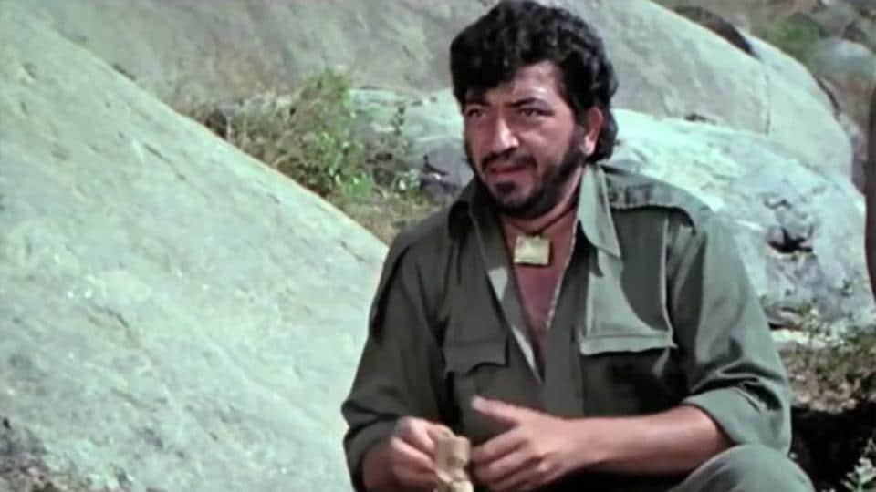 Amjad Khan played Gabbar Singh in Sholay.