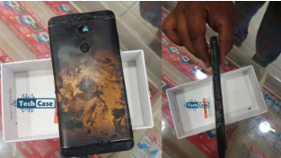 xiaomi redmi note 4 allegedly explodes on video  company
