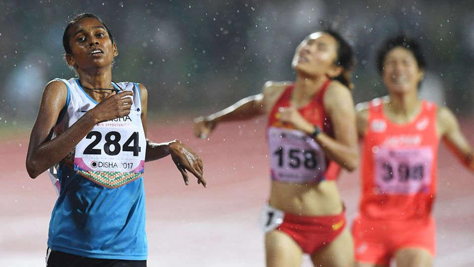 The omission of PU Chitra (L) from India's IAAF World Championships squad has caused controversy back home.