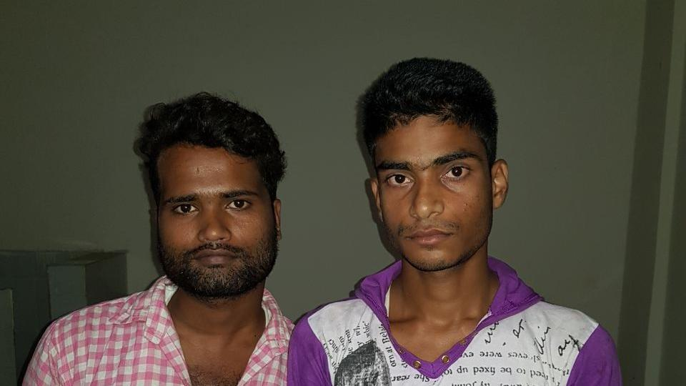 Those arrested men were Mohammad Manouar, 26, and Mohammad Shahid Alam, both from Bihar's Munger, which is known for manufacture and supply of illegal firearms for years.