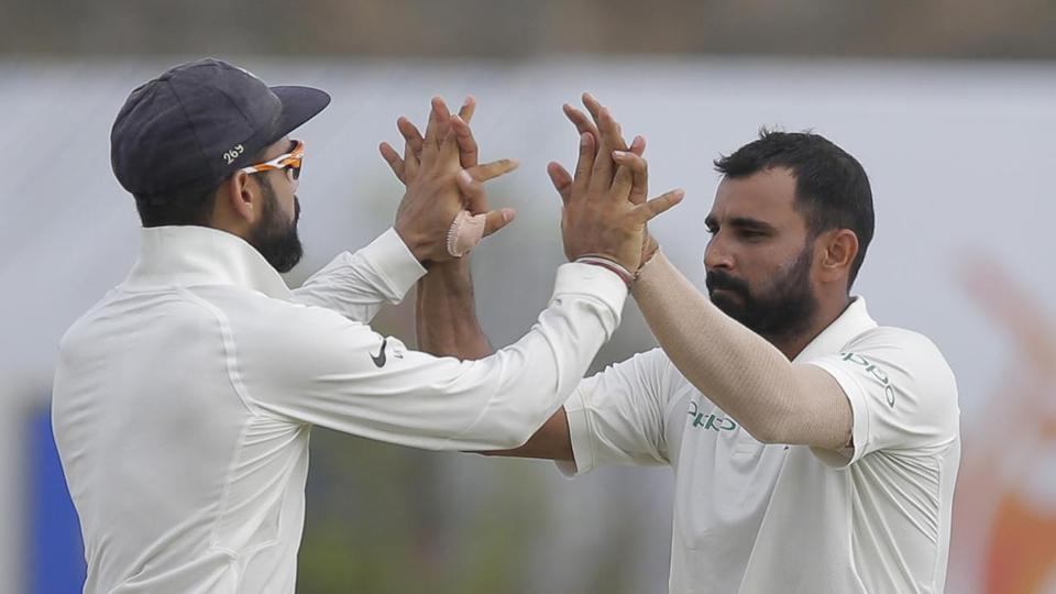 India vs Sri Lanka,Mohammed Shami,Ravichandran Ashwin
