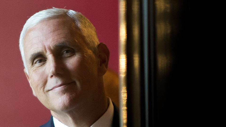 Mike Pence,Fundraiser,US vice president