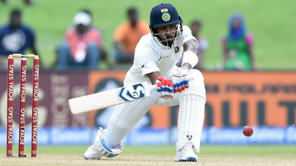 Hardik Pandya was a revelation as the debutant batted well in his 49-ball knock in which he hit five fours and three sixes. (AFP)