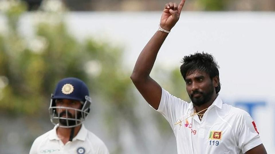 Sri Lanka pacer Nuwan Pradeep picked up six wickets, giving away 132 runs. (Reuters)