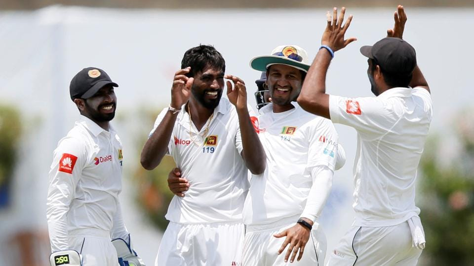 Sri Lanka's Nuwan Pradeep picked up six wickets against India in the first Test at Galle.