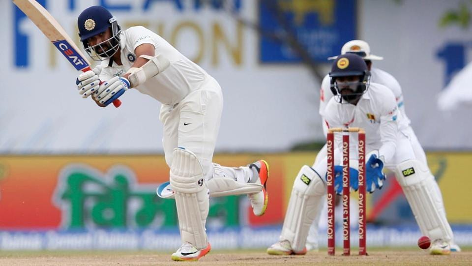 Ajinkya Rahane continued his good run of form to score yet another half-century. (Reuters)