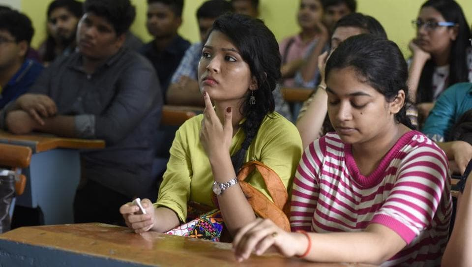 All the students having opted for a particular elective, had been marked absent.