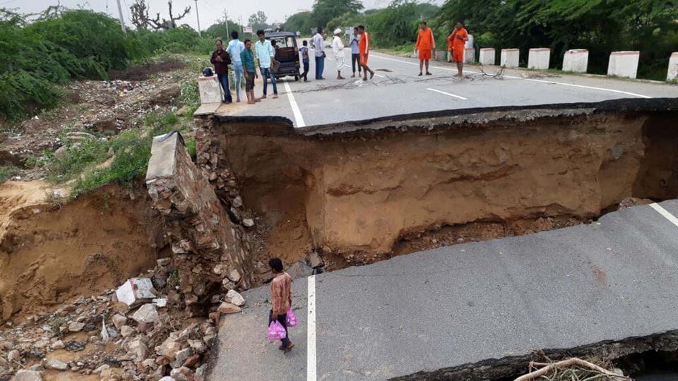 Rajasthan,Rain relief,Jalore