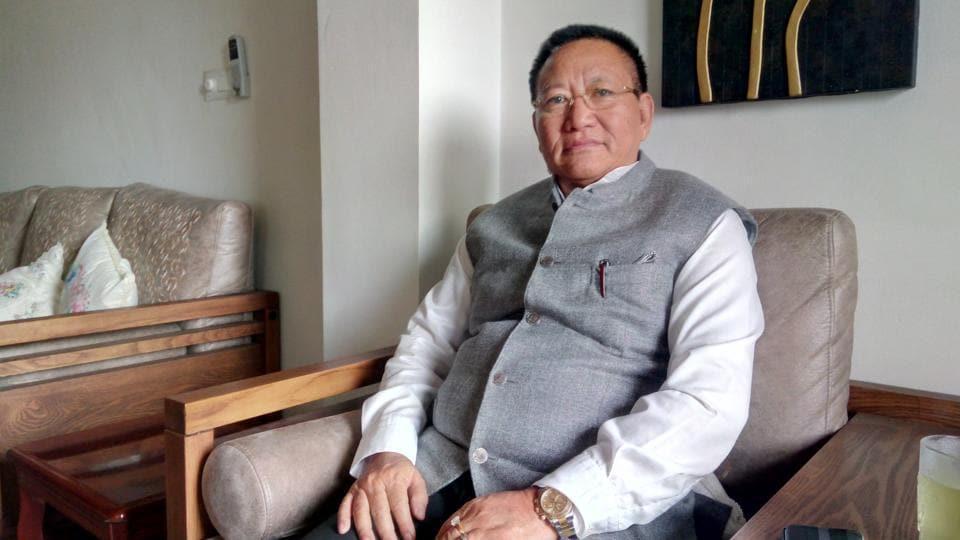 TR Zeliang,Nagaland,RSS