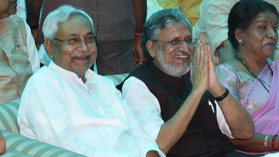 Nitish Kumar resigns,Nitish Kumar Narendra Modi,Sushil Kumar Modi