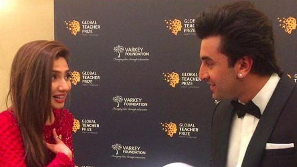 Ranbir Kapoor,Mahira Khan,Ranbir Kapoor dating Mahira Khan