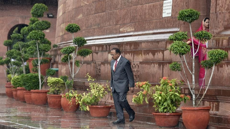 National Security Adviser Ajit Doval is in Beijing to attend a two-day BRICS security summit.