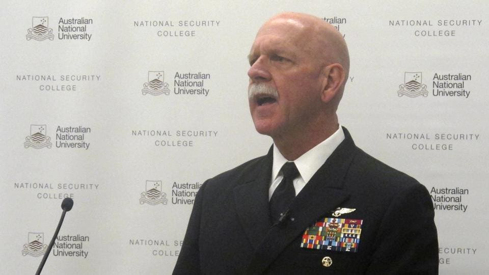 US President Donald Trump,nuclear strike on China,US Pacific Fleet commander Admiral Scott Swift