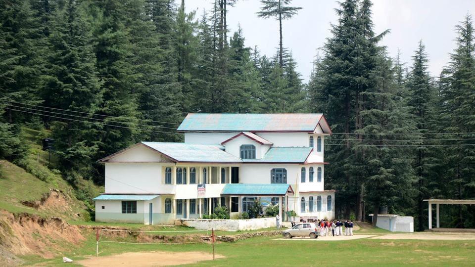 Government school at Mhasu in Kotkhai tehsil of Shimla district.