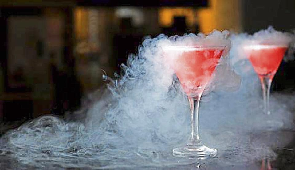 The ban comes almost a month after news of a 30-year-old Delhi man gulping down a drink topped with liquid nitrogen and ending with a gaping hole in his stomach came to the fore.