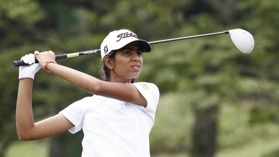 Diksha Dagar has been playing golf since the age of six.