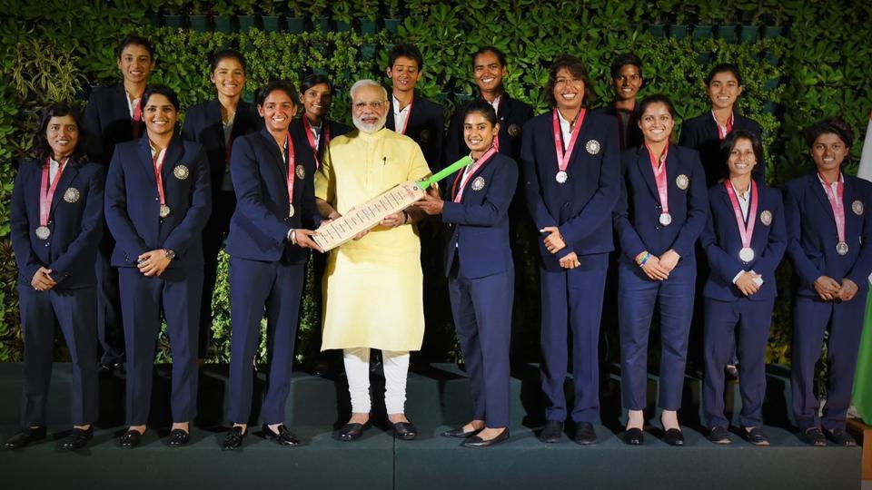 The Indian women's cricket team met Prime Minister Narendra Modi on Thursday.
