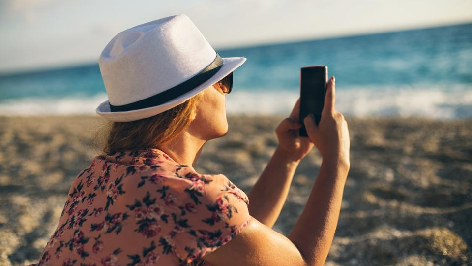 Vacations are a great time to switch off your phone and disconnect from technology.