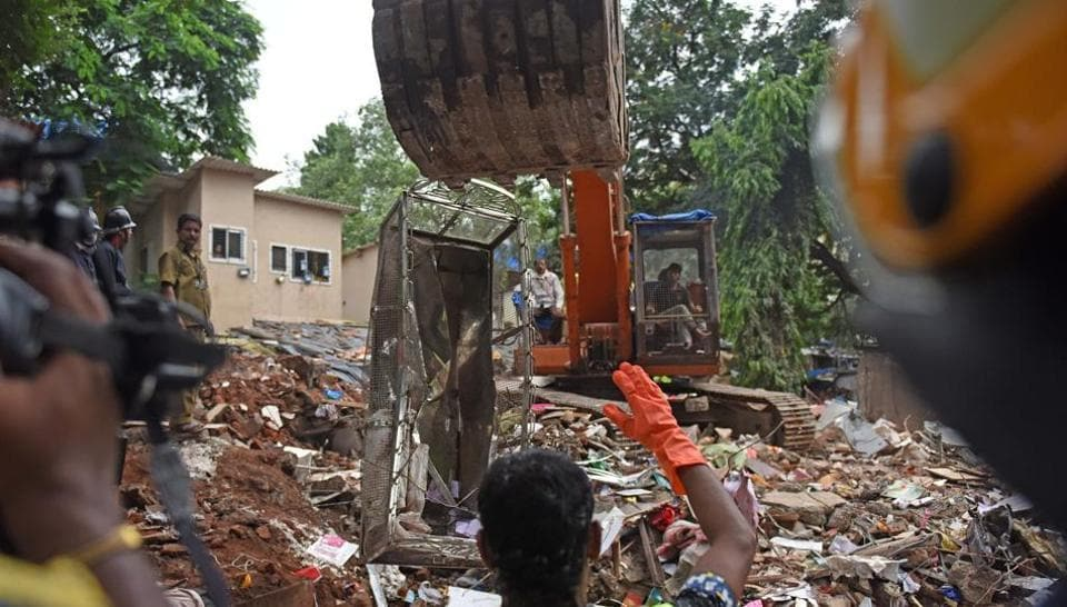 Mumbai,Mumbai building collapse,GHatkopar