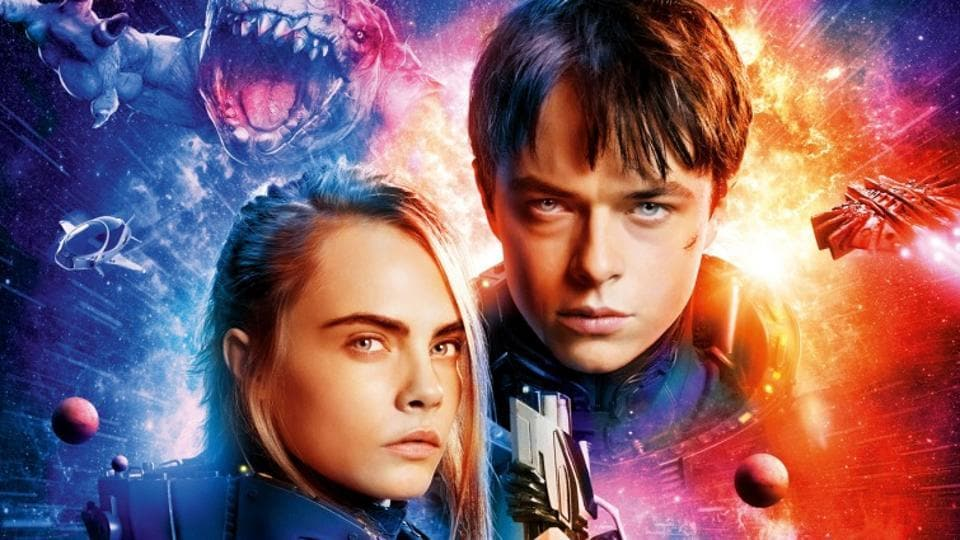 The hugely-miscast Dane DeHaan takes away from Cara Delevingne's chipper performance.