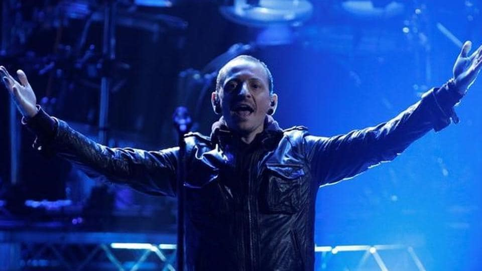 Chester Bennington of Linkin Park performs