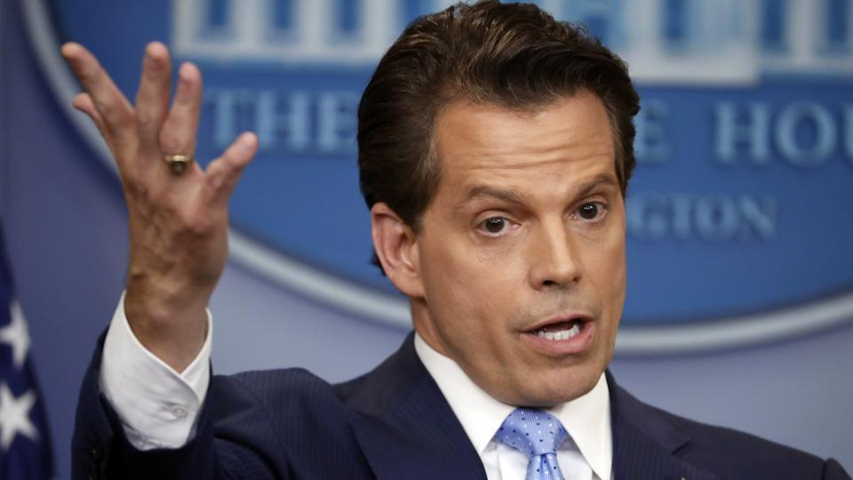 Donald Trump,White House,Anthony Scaramucci