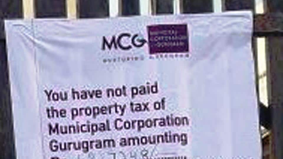 On July 20, the MCG had also sealed 70 shops in Sector 74 after their owners failed to pay the property tax dues.