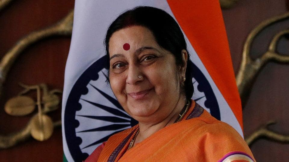Sushma Swaraj,Indian Visa,Pakistani woman
