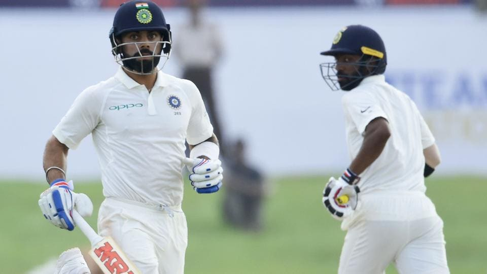 Virat Kohli and Abhinav Mukund brought up a 100-run partnership as India continued to dominate. Get full cricket score of India vs Sri Lanka, 1st Test, Day 3 from Galle here.