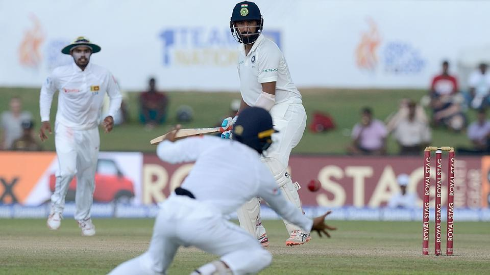 Cheteshwar Pujara, who scored a brilliant century in the first innings, was also dismissed cheaply. (AFP)