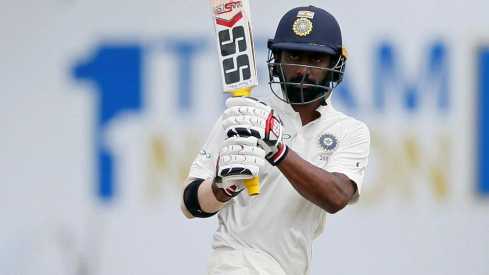 India opener Abhinav Mukund, however, came good and scored a brilliant 81 which included eight boundaries. (REUTERS)