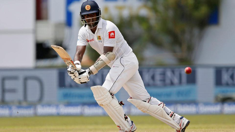 Sri Lanka captain Angelo Mathews also played an important innings of 83 runs. (REUTERS)