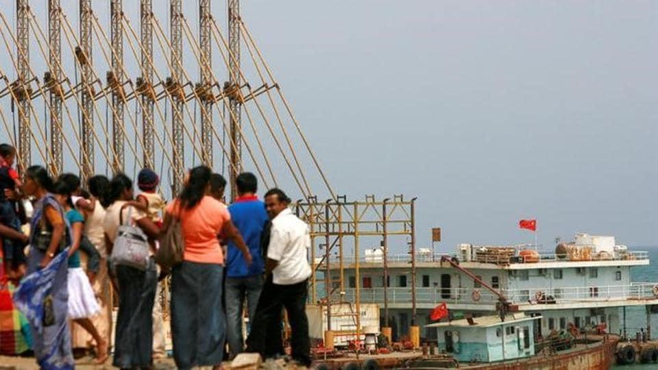 Sri Lanka,China,Hambantota port
