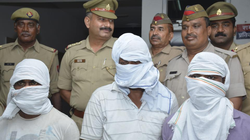 Ghaziabad police,Ghaziabad robbery,Armed llot
