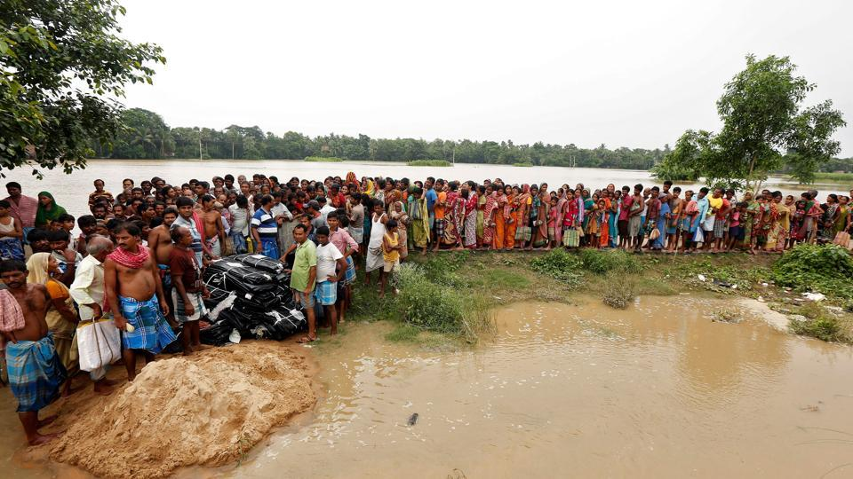 Several areas in West Midnapore, Howrah, Bankura and West Burdwan districts of the state have been inundated by incessant rains for the past several days.